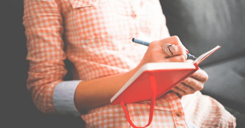 journaling-self care is not selfish